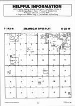 Steamboat River T142N-R32W, Hubbard County 1992 Published by Farm and Home Publishers, LTD